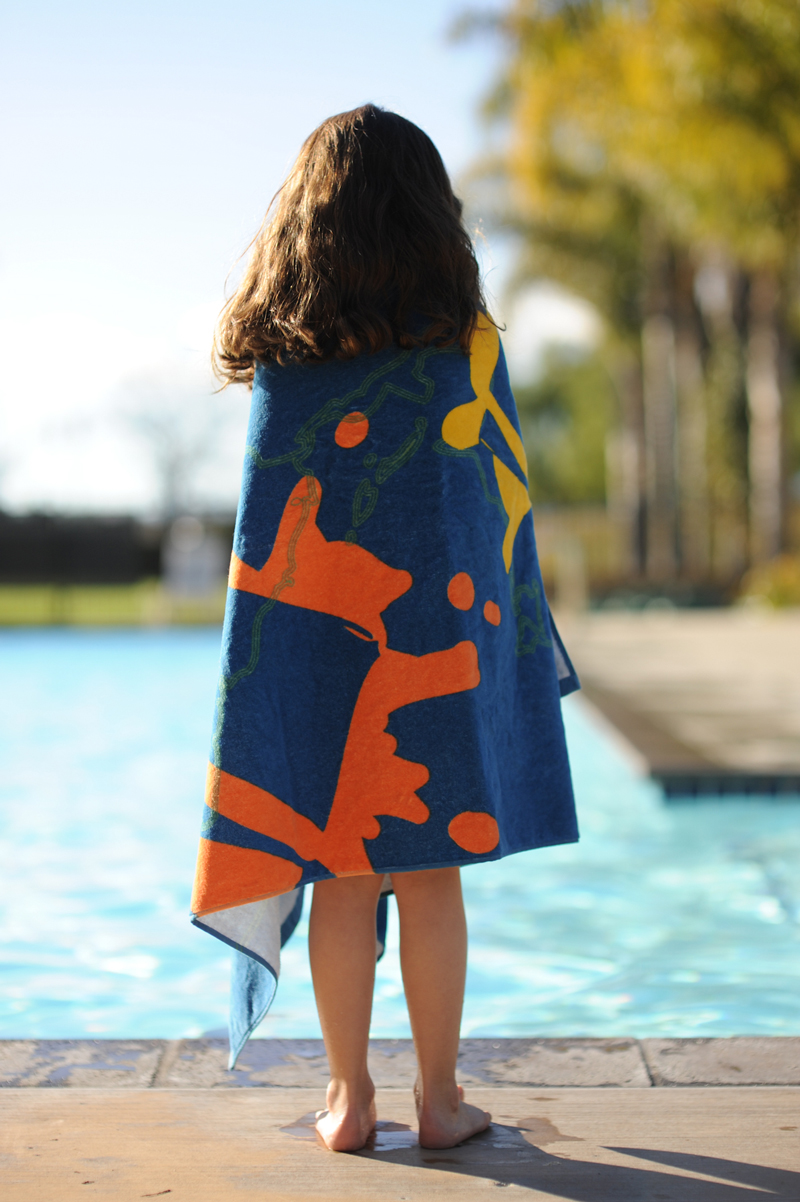 Organic Cotton Beach Towel