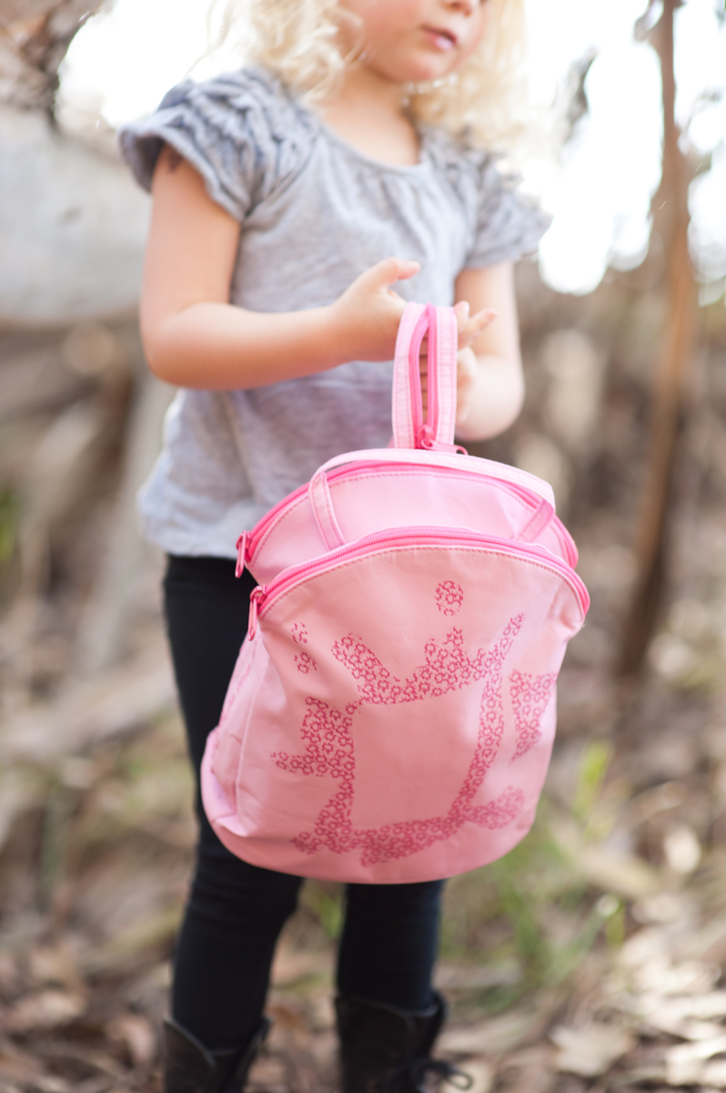 Our Mini Backpack, Prism Pink