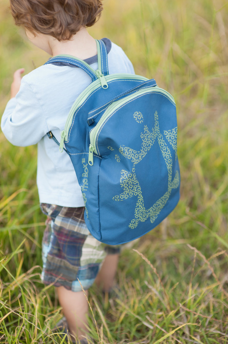 Our Mini Backpack, Ultramarine